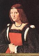 BOLTRAFFIO, Giovanni Antonio Portrait of a Young Woman 55 oil painting picture wholesale