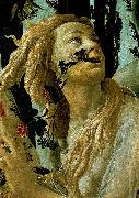 BOTTICELLI, Sandro La Primavera, Allegory of Spring (detail) oil painting picture wholesale