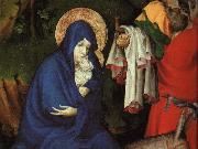 BROEDERLAM, Melchior The Flight into Egypt (detail) fg oil painting picture wholesale