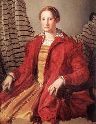 BRONZINO, Agnolo Portrait of a Lady dfg oil painting artist