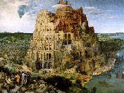 BRUEGEL, Pieter the Elder The Tower of Babel f oil painting picture wholesale