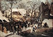 BRUEGHEL, Pieter the Younger Adoration of the Magi df oil painting picture wholesale