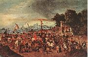 BRUEGHEL, Pieter the Younger Crucifixion dgg oil painting picture wholesale