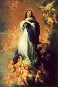 Bartolome Esteban Murillo The Immaculate Conception of the Escorial oil painting artist