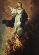 Bartolome Esteban Murillo Assumption of the Virgin oil painting artist