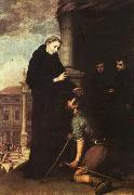 Bartolome Esteban Murillo St.Thomas of Villanueva Distributing Alms oil painting picture wholesale