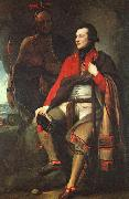 Benjamin West Colonel Guy Johnson oil painting artist