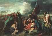 Benjamin West The Death of Wolfe oil painting artist