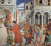 Benozzo Gozzoli The School of Tagaste oil painting picture wholesale