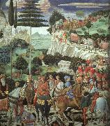 Benozzo Gozzoli Procession of the Magus Melchoir oil painting picture wholesale
