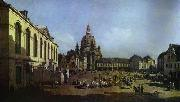 Bernardo Bellotto The New Market Square in Dresden Seen from the Judenhof oil painting picture wholesale