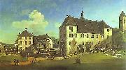 Bernardo Bellotto Courtyard of the Castle at Kaningstein from the South. oil painting picture wholesale