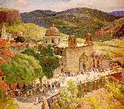 Berninghaus, Oscar Edmund Taxco oil painting picture wholesale