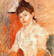 Berthe Morisot Jeune Fille en Blanc oil painting picture wholesale