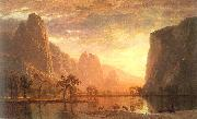 Bierstadt, Albert Valley of the Yosemite oil painting picture wholesale