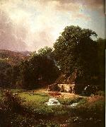 Bierstadt, Albert The Old Mill oil painting picture wholesale