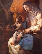 CAJES, Eugenio The Adoration of the Magi (detail) fd oil painting picture wholesale
