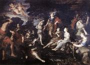 CAMASSEI, Andrea The Hunt of Diana oil painting picture wholesale
