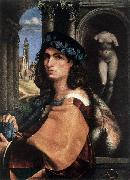 CAPRIOLO, Domenico Portrait of a Man df oil painting artist