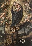 CARDUCHO, Vicente Vision of St Francis of Assisi fg oil painting artist