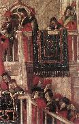 CARPACCIO, Vittore Meeting of the Betrothed Couple (detail) dfg oil painting artist