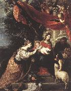 CEREZO, Mateo The Mystic Marriage of St Catherine klj oil painting artist