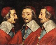 CERUTI, Giacomo Triple Portrait of Richelieu kjj oil painting picture wholesale