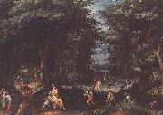 CONINXLOO, Gillis van Landscape with Leto and Peasants of Lykia fsg oil painting picture wholesale