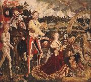 CRANACH, Lucas the Elder The Martyrdom of St Catherine fd oil painting picture wholesale