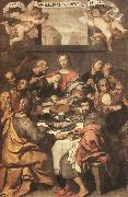 CRESPI, Daniele The Last Supper dhe oil painting artist