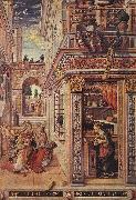 CRIVELLI, Carlo Annunciation with St Emidius fg oil painting picture wholesale