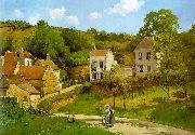Camille Pissaro The Hermitage at Pontoise oil painting artist