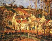 Camille Pissarro Red Roofs1 Village Corner oil painting artist