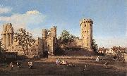 Canaletto Warwick Castle: the East Front df oil painting picture wholesale