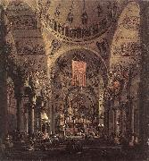 Canaletto San Marco: the Interior f oil painting picture wholesale