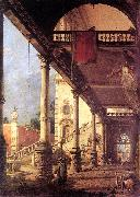 Canaletto Perspective fg oil painting picture wholesale