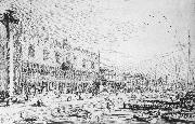 Canaletto Venice: Riva degli Schiavoni ff oil painting picture wholesale