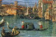 Canaletto The Grand Canal and the Church of the Salute (detail) ffg oil painting picture wholesale