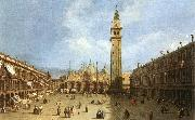 Canaletto Piazza San Marco f oil painting picture wholesale