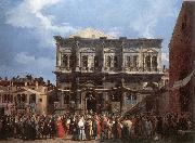Canaletto The Feast Day of St Roch fd oil painting picture wholesale