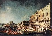 Canaletto Arrival of the French Ambassador in Venice d oil painting picture wholesale