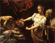 Caravaggio Judith and Holofernes oil painting artist