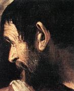 Caravaggio Supper at Emmaus (detail) d oil painting picture wholesale