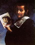 Carlo  Dolci Self Portrait_i oil painting picture wholesale