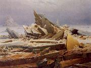Caspar David Friedrich The Wreck of Hope oil painting picture wholesale