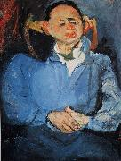 Chaim Soutine Portrait of Sculptor Miestchaninoff oil painting picture wholesale