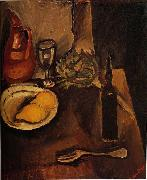 Chaim Soutine Still Life with Lemons oil painting artist