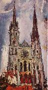Chaim Soutine Chartres Cathedral oil painting picture wholesale