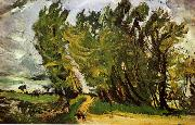 Chaim Soutine Windy Day in Auxerre oil painting picture wholesale