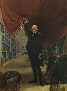Charles Wilson Peale The Artist in his Museum oil painting artist